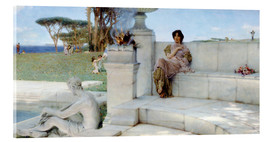 Stampa su vetro acrilico  The Voice of Spring. - Lawrence Alma-Tadema