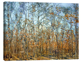 Tela  The beech forest - Ferdinand Hodler