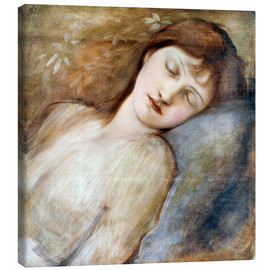Tela  Sleeping Princess - Edward Burne-Jones