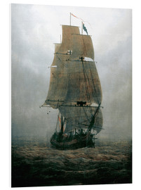 Forex  Sailing ship in the fog - Caspar David Friedrich