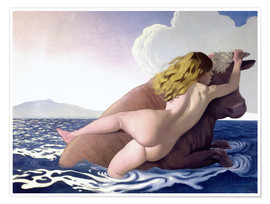 Poster Premium The Abduction of Europa