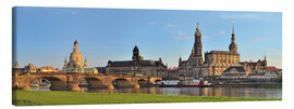 Stampa su tela  Dresden Canaletto view - FineArt Panorama