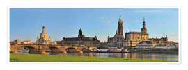 Poster Premium Dresden Canaletto view