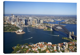 Tela  Sydney Skyline - David Wall