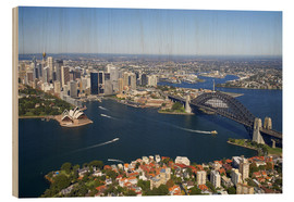Legno  Sydney Skyline - David Wall