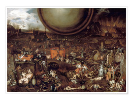 Poster  Hell - Hieronymus Bosch