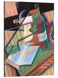 Stampa su alluminio  The Book - Juan Gris