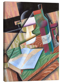 Stampa su tela  The Book - Juan Gris