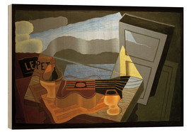 Stampa su legno  View of the Bay - Juan Gris
