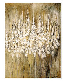 Poster Premium  flower abstract - Christin Lamade