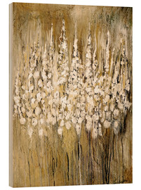 Stampa su legno  flower abstract - Christin Lamade