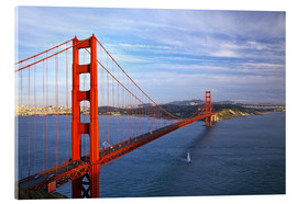 Stampa su vetro acrilico  Golden Gate Bridge - Chuck Haney