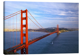 Stampa su tela  Golden Gate Bridge - Chuck Haney