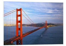 Stampa su schiuma dura  Golden Gate Bridge - Chuck Haney