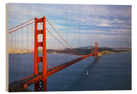 Legno  Golden Gate Bridge - Chuck Haney