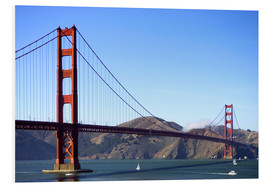 Stampa su schiuma dura  Golden Gate Bridge - Jim Goldstein