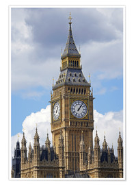 Poster Premium  Big Ben e Westminster Palace - David Wall