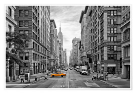 Poster Premium  NEW YORK CITY 5th Avenue - Melanie Viola