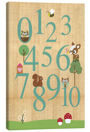 Tela  Educational Numbers - learn to count - GreenNest