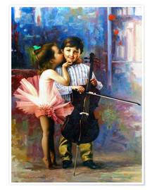 Poster Premium Melody of colors 4