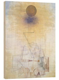 Stampa su legno  Limits of Reason - Paul Klee