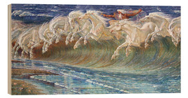 Legno  The Horses of Neptune - Walter Crane