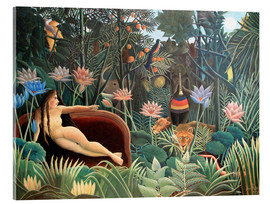 Vetro acrilico  The dream - Henri Rousseau