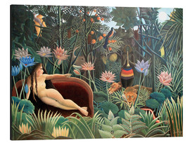 Alluminio Dibond  The dream - Henri Rousseau