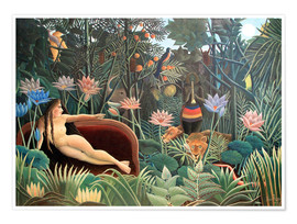 Poster  The dream - Henri Rousseau