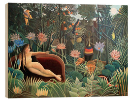 Legno  The dream - Henri Rousseau