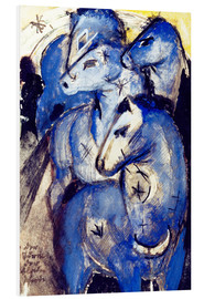 Forex  Tower Blue Horse - Franz Marc