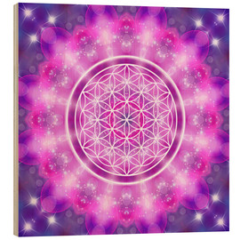 Legno  Flower of Life - Love Essence - Dolphins DreamDesign
