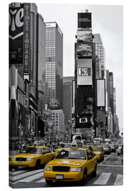 Stampa su tela  NEW YORK CITY Times Square - Melanie Viola