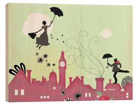 Legno  Mary Poppins London - Elisandra Sevenstar