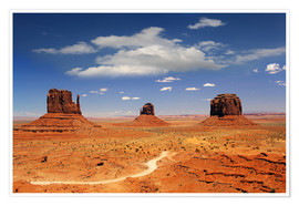 Poster Premium  Monument Valley Navajo National Monument - Renate Knapp