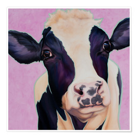 Poster  Cow Lotte - Renate Berghaus