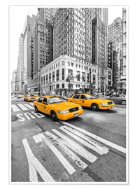 Poster  New York Yellow Cab - Marcus Klepper