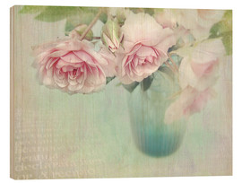 Legno  pink roses - Lizzy Pe