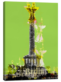 Stampa su tela  Berlin Victory Column (on Green) - JASMIN!