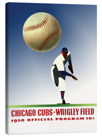 Stampa su tela  chicago cubs 1950 - Sporting Frames