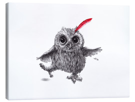 Stampa su tela  Chief Red - Happy Owl - Stefan Kahlhammer