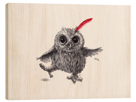 Legno  Chief Red - Happy Owl - Stefan Kahlhammer