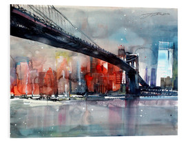 Forex  New York, Brooklyn Bridge IV - Johann Pickl