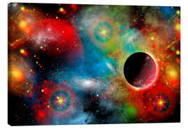 Stampa su tela  colorful universe - Mark Stevenson