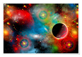 Poster Premium  colorful universe - Mark Stevenson