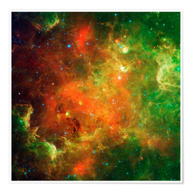 Poster Premium Clusters of young stars
