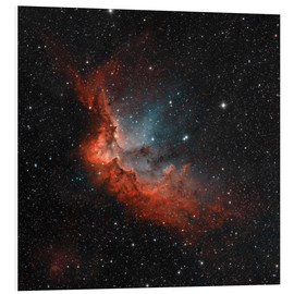 Stampa su schiuma dura  NGC 7380 in true colors. - Rolf Geissinger