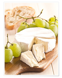 Poster Premium  French soft cheese - Edith Albuschat
