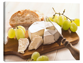 Tela  Cheese and grapes - Edith Albuschat