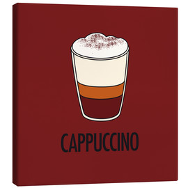 Stampa su tela  Cappuccino, for the italian lover in you! - JASMIN!